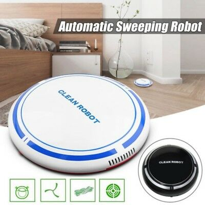 Smart Cleaning Robot Vacuum Cleaner USB Recharge Automatic Floor Dust Sweeper T6