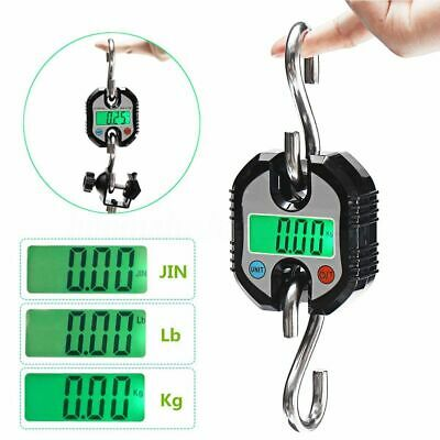 Mini Portable 150kg/330Lb LCD Digital Electronic Weight Hook Hanging Crane Scale
