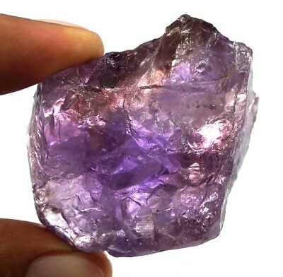 227 Ct 100% Natural Purple & Yellow Ametrine Rough Untreated Bolivia Facet Gem
