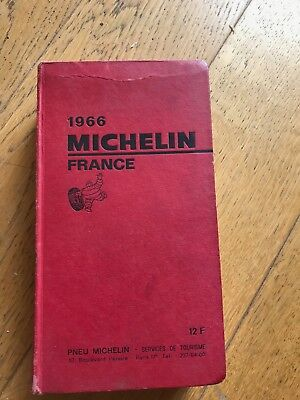 Guide rouge MICHELIN 1966