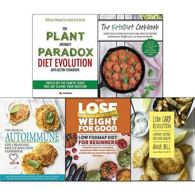KetoDiet Cookbook Low Carb Revolution Plant Anomaly 5 Books Collection Set NEW