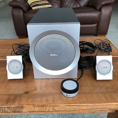 Bose Companion 3 2.1 Multimedia Speaker System,Aux In, Touchpad for PC Gaming TV