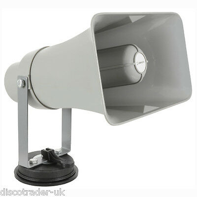 Adastra Vehicle Pa Public Address Megaphone With Built In Usb/sd Player