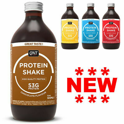QNT Fit Protein Shake 500ml Ready To Drink Protein Shake Fat Free RTD RTDs