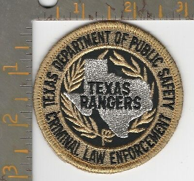 TX DPS Highway Patrol Texas Rangers State Police Patch Dept Public Safety