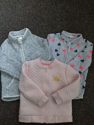 Girls bundle fleece jacket age 1-1.5 yrs !