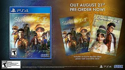 Shenmue I & II Launch Edition (1 & 2) Sony PlayStation 4 (2018)