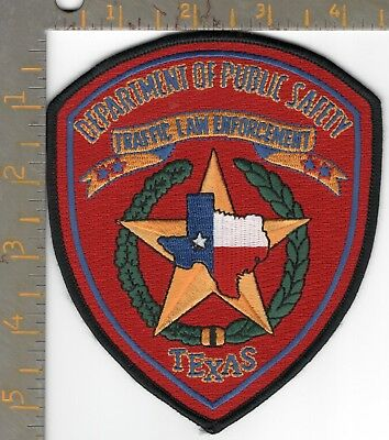 Texas DPS Highway Patrol Dept Public Safety Traffic Enforcement Police Patch