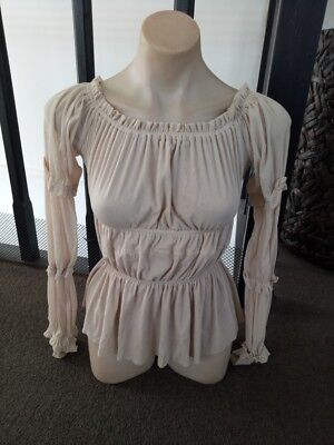 'new' Jump Sherred Top Size 10 With Tags