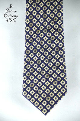 NEW Banana Republic Men Long Tie Grape OffWhite Floral Print ONESIZE Classic