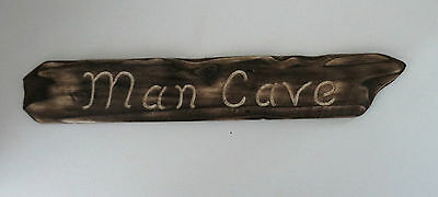 Man Cave Plaque - Handmade Shed Sign - Gift for Him - Door Sign - Garage Sign