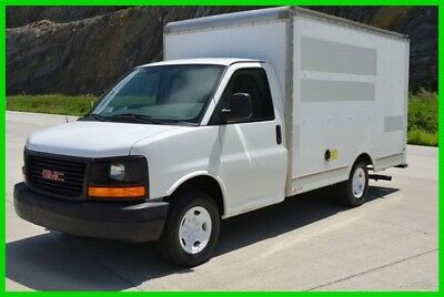 2011 GMC Savana 3500 12ft Box Truck Fleet Maintained Stock#902555