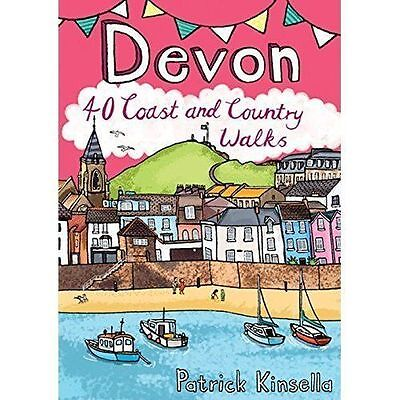 Devon: 40 Coast and Country Walks by Patrick Kinsella (Paperback, 2016)