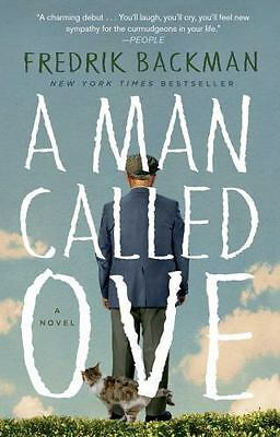 "Fredrik Backman ""A MAN CALLED OVE"" - Brand New Softcover"