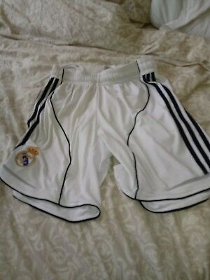 Adidas real madrid Shorts small W3032
