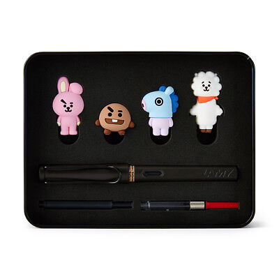 Lamy X BT21 Fountain Pen Edition Set 2 - KPOP BTS COOKY, RJ, SHOOKY, MANG