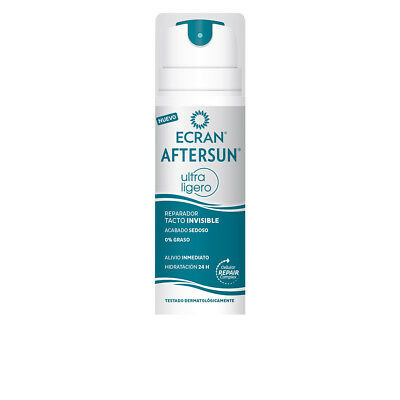 Cuerpo Ecran unisex ECRAN AFTERSUN ULTRALIGERO reparador invisible 145 ml