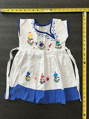 80eb5b40d MEXICAN HAND EMBROIDERED BABY DRESS from CHIAPAS MEXICO - $23.00 ...