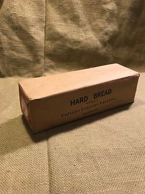 WWI US Army 1917 contract Hard Bread Hard Tack ration box