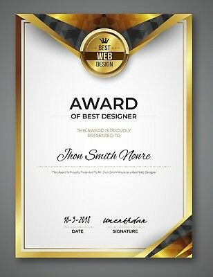 Get Certificate Award for your website or for your services
