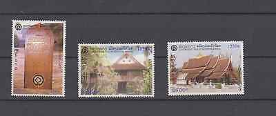 Laos 1999 Unesco World Heritage Luang Prabang Set Mint Never Hinged