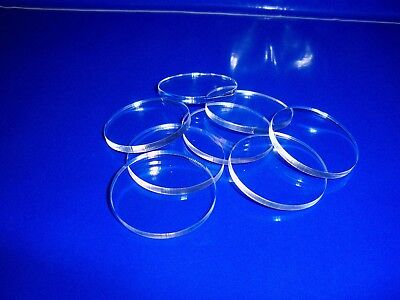 20 pack  3mm thick  25mm diameter laser cut clear acrylic  circles discs