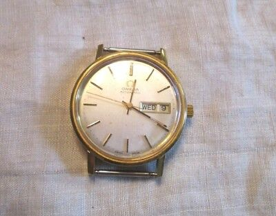 Vintage Omega Automatic Swiss Made Watch - Personalized Quick Set Day Date Runs