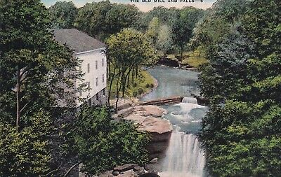 The Old Mill and Falls, Mill Creek Park, Youngstown, Ohio