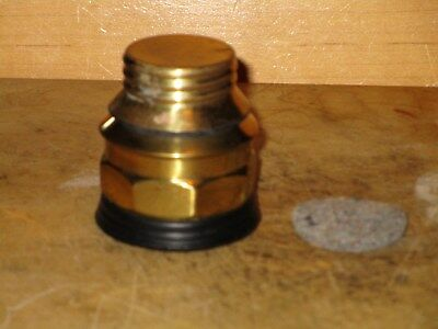 Miners  AUTO-LITE Bottom for CARBIDE LAMPS - New/Old Stock
