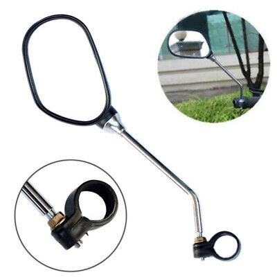 1pair Motorcycle Bike Bicycle Mirror Cycling Rear View Rearview Safety Mirror US