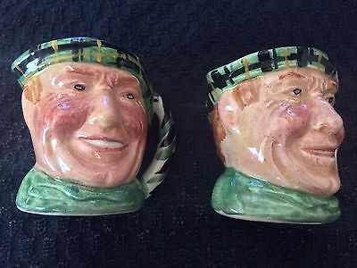 Scottish Character Lancaster Hand Painted Hanley England
