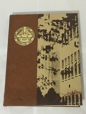 Vintage 1971 St. Joseph High School Cleveland Oh Viking Yearbook Unmarked
