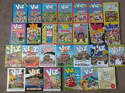 VIZ ANNUALS COLLECTION x 24 (EARLY & LATE) PLUS 3 OTHERS - COLLECTION ONLY