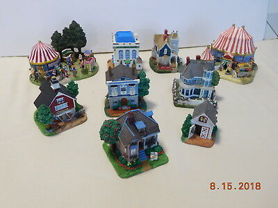 9 Liberty Falls Collection – Circus Tent Houses Shops Carriage House Business Lo