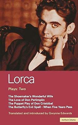 Lorca Plays: 2: Shoemaker's wonderful Wife;Don Perlimplin;Puppet Play Of Don Chr