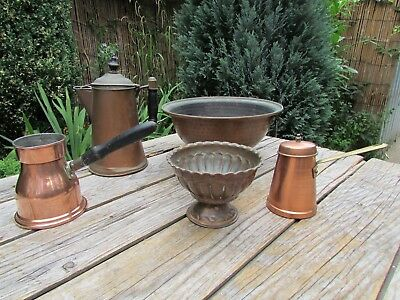 Job Lot Of Collectable/ornamental Copper Items