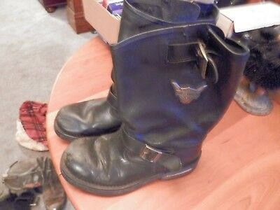 harley davidson brand engineer boots preowned size 11