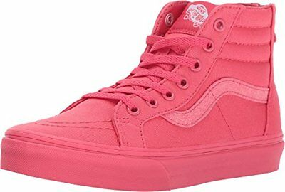Vans SK8-Hi Zip Girls Youth Size 10.5 (Mono) Paradise Pink/Glitter Shoes
