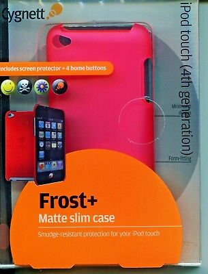 iPod Touch 4th Fourth Gen Generation Slim Case Pink