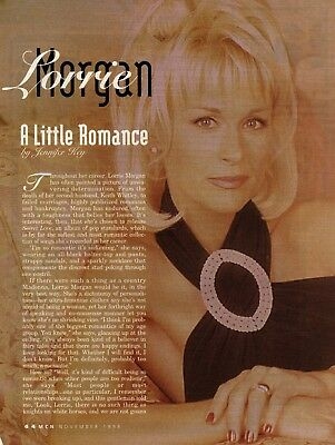 Lorrie Morgan 3 Page 1998 Magazine Article Clipping 3 Pictures Country Music