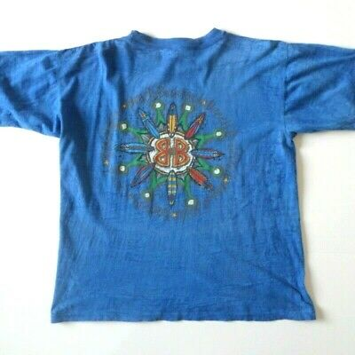 4f2df490e Vintage Beach Boulevard Men's T-Shirt M Medium Blue Surf Sun Beach Board  Skate