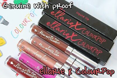 ColourPop x ellarie Liquid Lipstick *100% GENUINE* Ultra Matte / Satin / Glossy