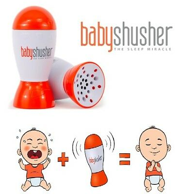 NEW!!! Genuine Baby Shusher - The Miracle Baby Soothing Portable Sleep Aid