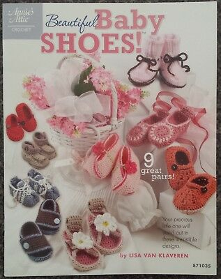 Annie's Attic Crochet Beautiful Baby Shoes! by Lisa Van Klaveren 871035