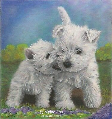 Westie Sister's Secrets Flag Rescue Free Ship Usa