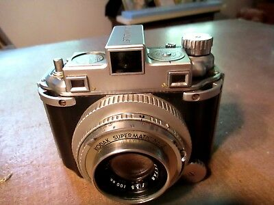 Vintage Kodak Medalist Supermatic 2 with 100 mm lens
