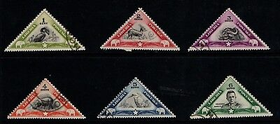 Liberia 1937 Animals set complete SG 559-64 VF Used CTO