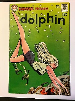 Showcase #79 1st Appearance Dolphin, Origin Aqualad (DC December 1968)  Fine FN