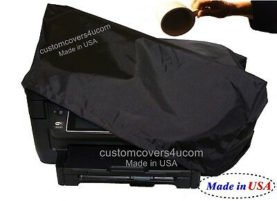 HP OfficeJet 3830 PRINTER BLACK NYLON DUST COVER WATER REPELLENT !