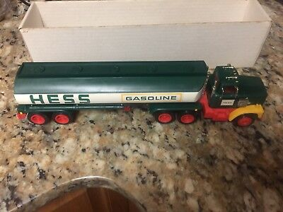 Vintage Hess Tanker Truck With Original Box And Inserts